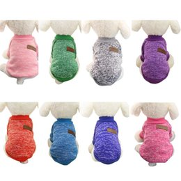 Wholesale Cheap Winter Coats Sale - Hot Sale Pet dog clothes for small dogs winter warm coat sweater puppy chihuahua cheap clothing for dog roupa para cachorro
