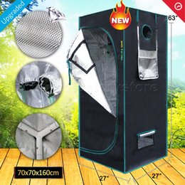 Wholesale led grow house - Marshydro 1680D 70*70*160cm Grow tent ,Hydroponics Lamp Indoor Garden for Plant Grow House Stock in US UK GE AU CANADA