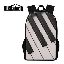 ff3d1e2016 Discount teen backpacks - Women s Preppy School Bags Backpack For Girls Boys  Musical Note Print Bookbags