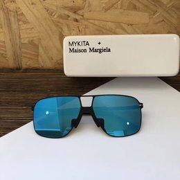 628b6e6174ad2 Mykita designer de óculos de sol para homens óculos de sol de luxo para as  mulheres homens óculos de sol das mulheres dos homens da marca óculos de  grife ...