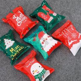 2019 auto taschentuch serviette halter Weihnachten Tissue Boxes Serviette Tasche Weihnachtsmann Schneemann Tissue Taschen Weihnachtsgeschenke Auto Home Decoration Tissue Holder 100pcs T1I1054 günstig auto taschentuch serviette halter