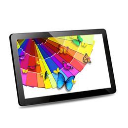 fabric display board Desconto 15inch 15.6 polegadas LCD digital signage photo frame adverising jogador na parede