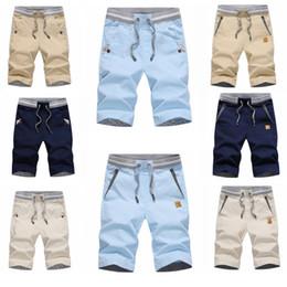 Wholesale Cotton Trousers Shorts For Men - Summer Short Pants for Men 2018 Hot New Cotton Linen Fashion Casual Fifth Pants Youth Slim Pant Men Business Five Trousers M-4XL
