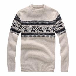 3368d4dbc7cc 2018 O-Ausschnitt Pullover Männer Marke Kleidung Herbst Winter Neue Ankunft  Cashmere Wolle Pullover Lässige Gestreifte Pull Sweater S-2XL. gestreifter  ...