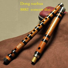 Качество флейты онлайн-DXH8882 Концертная качественная китайская бамбуковая флейта для профессионального игрока