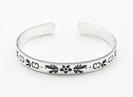 Porcellana del braccialetto 14k online-Braccialetti del fiore dell'argento sterlina dei monili selvaggi s925 del Giappone e della Corea del Sud braccialetti cinesi s925 del braccialetto dei monili d'argento del vento della Cina