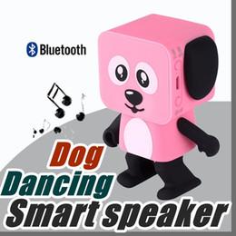 2018 Mini Super Cut Smart Danse Robot Chien Haut-Parleur Bluetooth Multi portable Bluetooth Haut-Parleur Cadeau De Noël Cadeau De Noël Pour Enfant Enfants ? partir de fabricateur