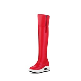 buy popular f9937 48346 Red Bottoms Thigh High Boots Online Shopping | Red Bottoms ...