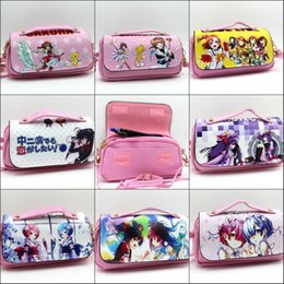 world stationery Promo Codes - Card Captor Sakura Re:Life in different world from zero Pencil box Stationery Cosmetic Shoulder strap Make-up Bags Cases 8 style