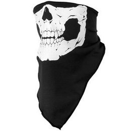 Wholesale cooling bandanas - Hot Selling Outdoor Ride Bandanas Sport Skull Scarves Skull Wicking Seamless Washouts Scarf Cool