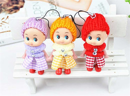 Wholesale Wholesale Cheap Dolls - 2017 Kids Toys Soft Interactive Baby Dolls Toy Mini Doll For Girls And Boys Dolls & Stuffed Toys Cheap Baby Toy Free Shipping