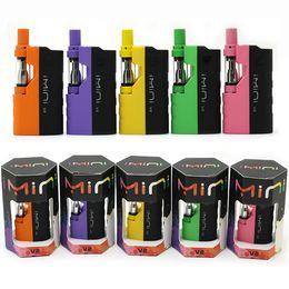 Mod cigarros eletrônicos on-line-Imini Original V2 II Mod Kit Cigarro Eletrônico Vape Mod Kit 650 mAh VV Bateria Com Top Cartucho de Controle de Fluxo De Ar 7 cores