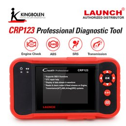 Wholesale saab launch crp123 - Original Launch CRP123 Update Online LAUNCH X431 Creader CRP123 ABS SRS Transmission and Engine obd2 Code Scanner DHL free Shipping