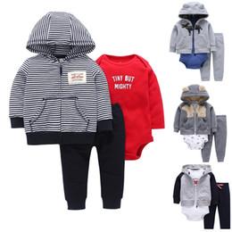 ef117fd6c Carter toddler Boy 3 pcs Clothing Set (Animal Hooded Coat+Long Sleeve  Bodysuit+Long Pants) 6 to 24 Months Baby