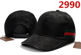 Wholesale striped cotton - Fashion Baseball Cap Men Women Outdoor Brand Designer Sports G Mesh Caps Hip Hop Adjustable Snapbacks Cool Pattern Hats New Truck Hat