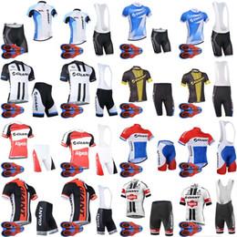 Wholesale Mtb Shorts Giant - 2018 GIANT Sportswear Mountain Bike Ropa Ciclismo MTB top Bicycle Wear Cycling Jersey clothing Shirt Bib Shorts sets D1766