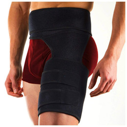 e38f7f9204 Hip Brace Adjustable Groin Support Compression Recovery Thigh Wrap waist  support