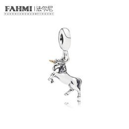 Canada FAHMI 100% 925 Sterling Silver 1: 1 Original 791200 Authentique Tempérament Mode Glamour Rétro Pendentif Mariage Femmes Bijoux Offre
