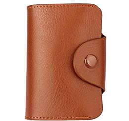 Deutschland Echtes Leder Unisex Business Card Holder Wallet Bank Kreditkarte Fall ID Inhaber Frauen Karteninhaber Porte Carte cheap genuine leather credit card case Versorgung