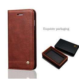 Wholesale wholesale flip phones - Luxury Case For Samsung Galaxy S9 Case Cover Original Flip Wallet Leather Suction Phone Case For Samsung S9 Plus Cover Stand