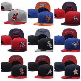 8d9bc20ae25 Chinese 2019 new arrival Indians Mets Cardinals Blue Jays Cubs Braves  Astros Brewers snapback hats gorras