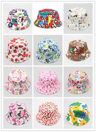6d99c79a12f Baby Summer Outdoor Bucket Hats