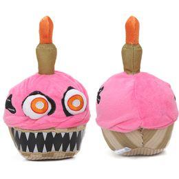 títeres parlantes Rebajas Nuevo Pink Five Nights en Freddy's Series 2 Nightmare Cupcake 7.9Inch FNAF Peluches juguetes de peluche bebe