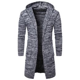 2019 koreanischen stil pullover männlich Herbst Männer Pullover Mode Korean Style Langarm Männliche Strickjacke Slim Fit Lässige Winter Mit Kapuze Pullover rabatt koreanischen stil pullover männlich