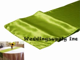 Wholesale Table Covers Cheap Wholesale - 20 WILLOW Cheap Satin Table Runner Cover