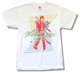 Canada Michael Jackson Beat It Classic Design des années 80 Image T-shirt blanc Nouveau t-shirt imprimé officiel du jurney T-shirt cool xxxtentacion supplier new print shirt image Offre