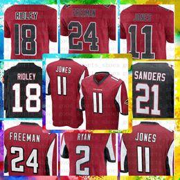Meilleures ventes 11 Julio Jones 18 Maillots Ridley Atlanta Falcons 2 Matt  Ryan 21 Deion Sanders 24 Maillots de Football Devonta Freeman Color Rush  ridley ... 4751c6b08