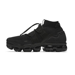 Wholesale fashion utility - 2018 Vapormax FK Utility Weaving Ourdoor Athletic Sporting Walking Sneakers for Men Vapor Fashion pink Casual Shoes