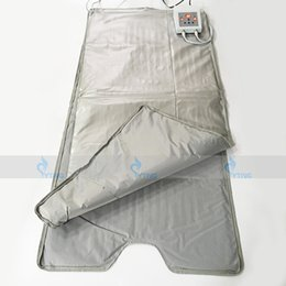 Wholesale infrared sauna equipment - New Arrival Body Wrap Slimming Far Infrared Blanket Sauna Thermal Heating Spa Therapy Weight Loss Portable Detox Machihne Beauty Equipment