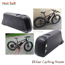 Wholesale 24v e bike - Free Shipping Rechargeable Ebike 24v 36v 48v 52V Electric bike battery dolphin type with USB for E-bike battery pack