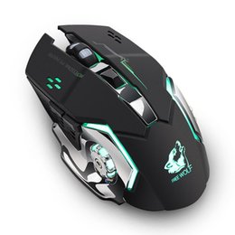 2018 New Rechargeable X8 Wireless Silent LED Backlit USB Optical Ergonomic Gaming Mouse Quality Mouse for PC