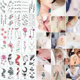 Искусство здоровья онлайн-210 стили татуировки наклейки водонепроницаемый боди-арт временные татуировки наклейки унисекс ювелирные подарки здоровья красоты продукт CCA10659 30lot