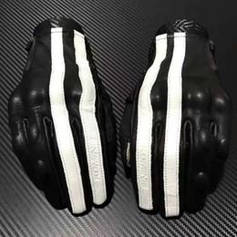 Коричневые всадники онлайн-2015 новый KOMINE gk - 119 мотоциклист перчатки кожаные перчатки цвет: коричневый белый размер: M, L, XL