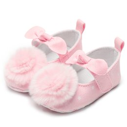 d72a23ec85f6 Pink Flowers Baby Shoes Girls Infant Baby Booties Sping Autumn Soft Shoes  For Kids Girls Footwear Cotton Anti-Slip First Walkers