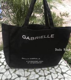 Maquiagem cosméticos sacos grande on-line-New big size famosa moda c canvan saco de compras saco de praia de luxo tote de viagem mulheres bolsa de lavagem de maquiagem cosméticos caso de armazenamento
