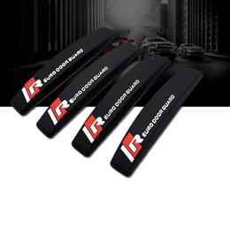 4 pezzi colore puro Auto Car Door Edge Protector Scratch Strip Guards Kit paraurti Set-nero / bianco / grigio da yongnuo iii fornitori