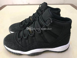Wholesale High Cut For Womens - Mens And Womens High Quality 11 Heiress Black Stingray Basketball Shoes For Sale 11s