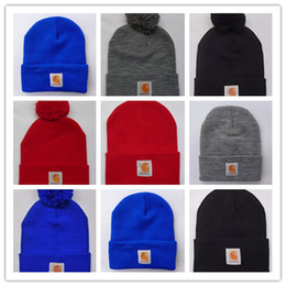 Wholesale Hockey Brand Hats - Good Quality Spring winter men fashion brand car Hart Women fashion knitted hat casual Hip Hop outdoor warm skull caps female gorros Beanies