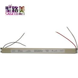 2019 schlanker netzteil 12 V 4A 48 Watt Dünne Thin LED Fahrer Beleuchtung Transformator AC200-240V Schaltnetzteil Nicht Wasserdicht für Leuchtkasten Zeichen günstig schlanker netzteil