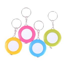Wholesale Measuring Tape Key Chain - Hot Sale Mini Tape Measure With Key Chain Plastic Portable 1.5m Retractable Ruler Centimeter Inch Tape Measure