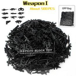 Wholesale Diy Weapon - Kaygoo Weapon Set Building Blocks DIY Military Swat Police Gun Weapons Pack Army Brick Arms City Police Batman Children Gift Toy
