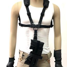 2020 fusil de rifle táctico Multifuncional al aire libre chaleco táctico colgante P90 cable de suspensión profesional de seguridad en los deportes ropeTactical honda del rifle pistola correa de la cuerda fusil de rifle táctico baratos
