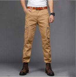 Pantalones largos tácticos de combate de los hombres Pantalones militares militares de SWAT Estilo al aire libre Pantalones de entrenamiento casual con bolsillos MJ desde fabricantes