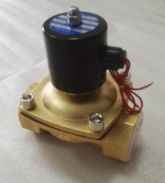 """Wholesale Valve Opening - 220-240V 2""""gas solenoid valve normally closed and open for power on brass valve solenoid,burner solenoid"""