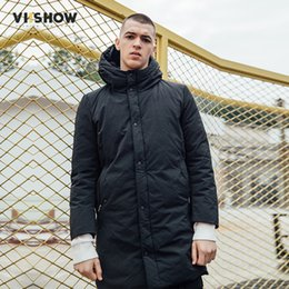 Wholesale Waterproof Mens Parka - Wholesale-VIISHOW Brand 2017 Winter Cotton Padded Hooded coat Men,Waterproof Parka Clothing,Thick Quilted Mens Hoodies Casaco MC2726174