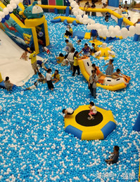Wholesale 100 pièces en gros Ball Pits océan boule de natation balle jouet cm taille boules en plastique enfants aire de jeux expédition par mer